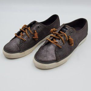 Sperry Seacoast Pewter / Silver Sneakers